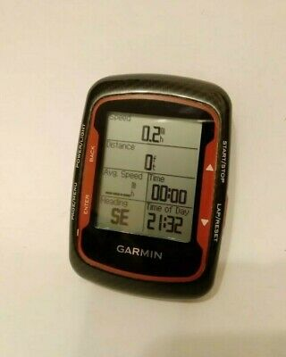 Garmin Edge 500 GPS Cyclocomputer Bike Computer Red Black