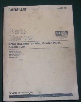 Cat Caterpillar 426c Backhoe Loader Parts Manual 1mr00956-up 1yr01517-up