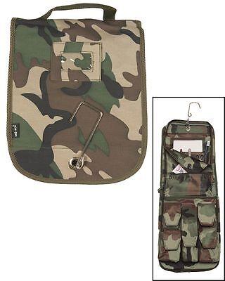 Outdoor Campeggio Militare Borsa da bagno toilette Sacchetto Di Igiene woodland