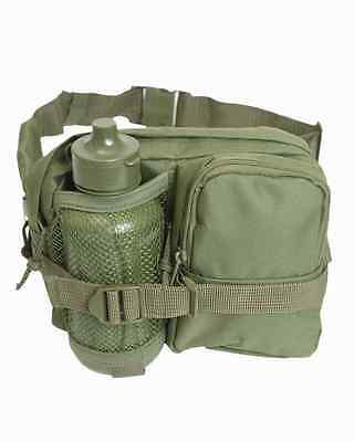 Gürteltasche Bauchtasche Trinkflasche Flasche Oliv Feldflasche Army  Bundeswehr