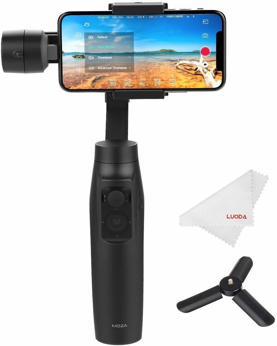 Moza Mini-MI 3-Axis Smartphone Gimbal Stabilizer Wireless Ph