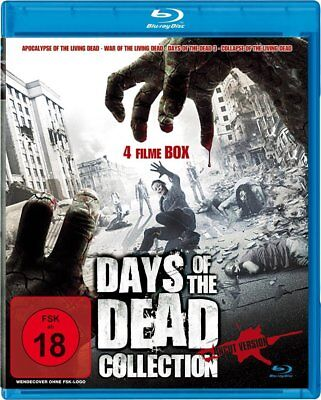 4 Horrorfilme BLU-RAY Days of the Dead 3 & War of the living Dead & Apocalypse o ()
