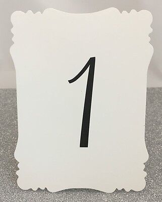 Table Number Cards (Wedding Table Number Cards 1-20 - Any)