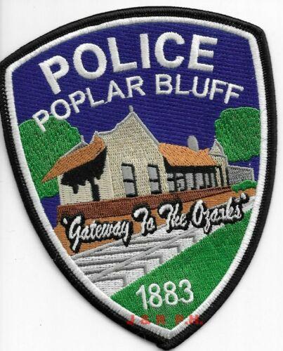 "Poplar Bluff ""Gateway - Ozarks"", Missouri (4"" x 5"") shoulder police patch (fire)"