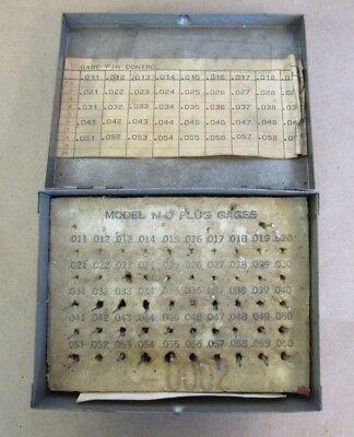 Meyer Gage Model M-0 Minus Plus Gage .0110 -.0600 Missing 2 Pins Free Shipping