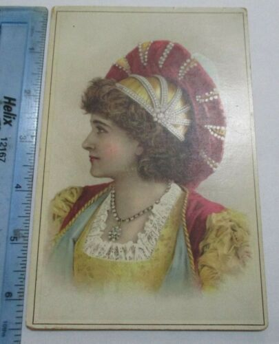 1880s Trade Card CD Kennys Tea Coffee Roaster Buchanans Wharf Baltimore Maryland