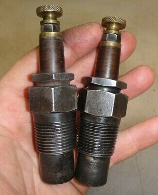 Two N.o.s. 34 Bethlehem Pipe Spark Plugs For Old Ihc 10-20 Titan Tractor