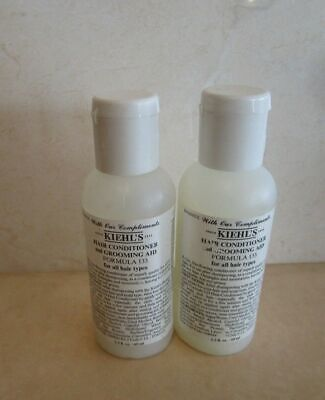 KIEHL'S HAIR CONDITIONER AND GROOMING AID FORMULA 133 2.2 OZ (LOT OF (Hair Conditioner And Grooming Aid Formula 133)