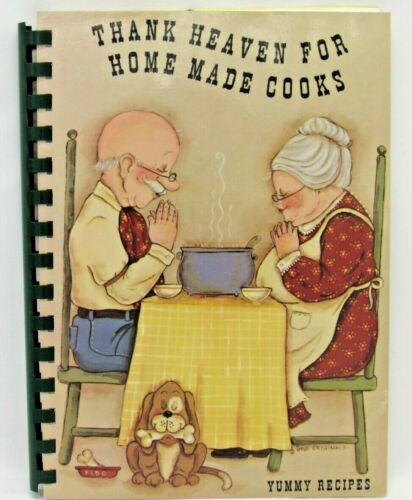 BASIN WYOMING 1995 FIRST BAPTIST CHURCH COOKBOOK THANK HEAVEN FOR HOME MADE
