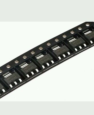 10pcs Ams1117 Lm1117 5.0v 1a Voltage Regulator Sot223 Usa Seller