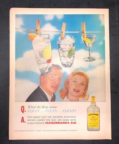 Life Magazine Ad FLEISCHMANN