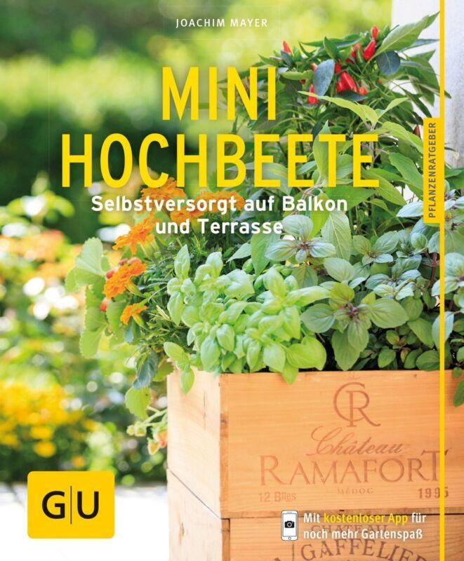 Mini-Hochbeete Joachim Mayer GU Pflanzenratgeber|Pflanzenpraxis|Garten