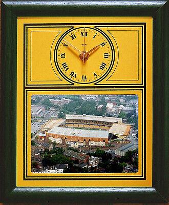 Football Clock Wolverhampton Wanderers Wolves Aerial