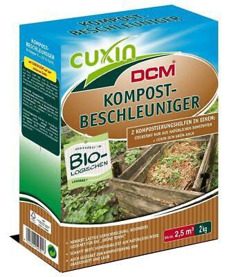 Cuxin Acelerador de Compostaje Granulado Abono Biológico Ecológico 1,5 KG