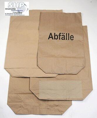 120 Liter Papiermüllsack Müllsäcke Papier 2lagig Biomüll Gartenabfall Papiersack
