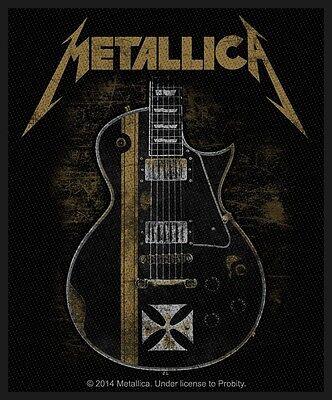 METALLICA - Patch Aufnäher - Hetfield guitar 8x10cm