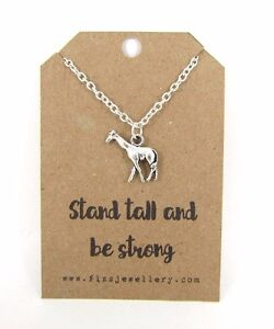 products necklace loving hello miss apple giraffe
