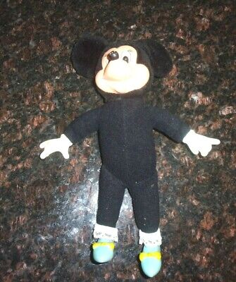 """Rare Old Vintage Original Applause Minnie Mouse Plush Doll 9 3/4"""" Tall 1987"""