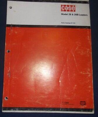 Case 26 26b Loader Parts Manual For 480 480b Tractors Factory Oem