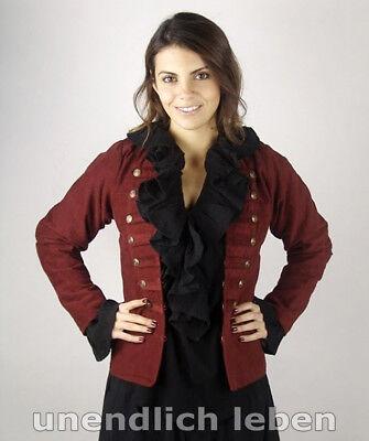 Military Uniform JACKE Damen Gothic Emilia Leonardo Carbone Steampunk S-XXXL ()