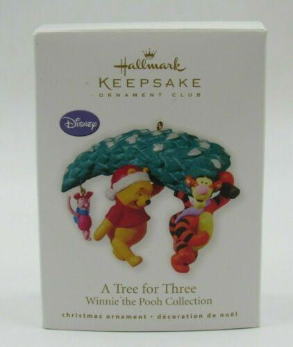 A Tree for Three - Winnie the Pooh - 2010 Hallmark Keepsake Ornament - Disney