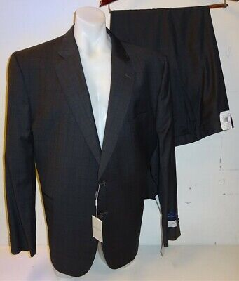 """NEW Jack Victor Grey Suit Jacket 50 PRG Portly Regular & Trousers 49"""" RRP £1180"""