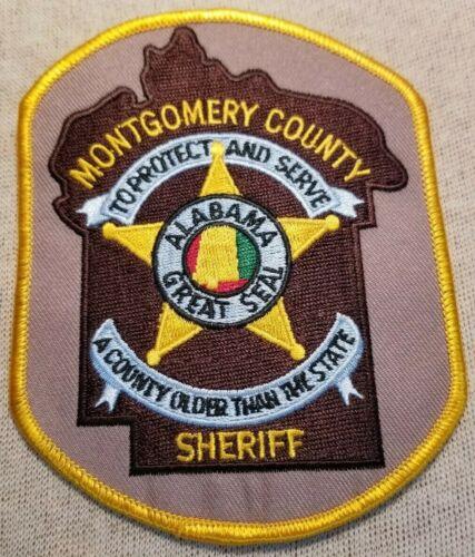 AL Montgomery County Alabama Sheriff Patch