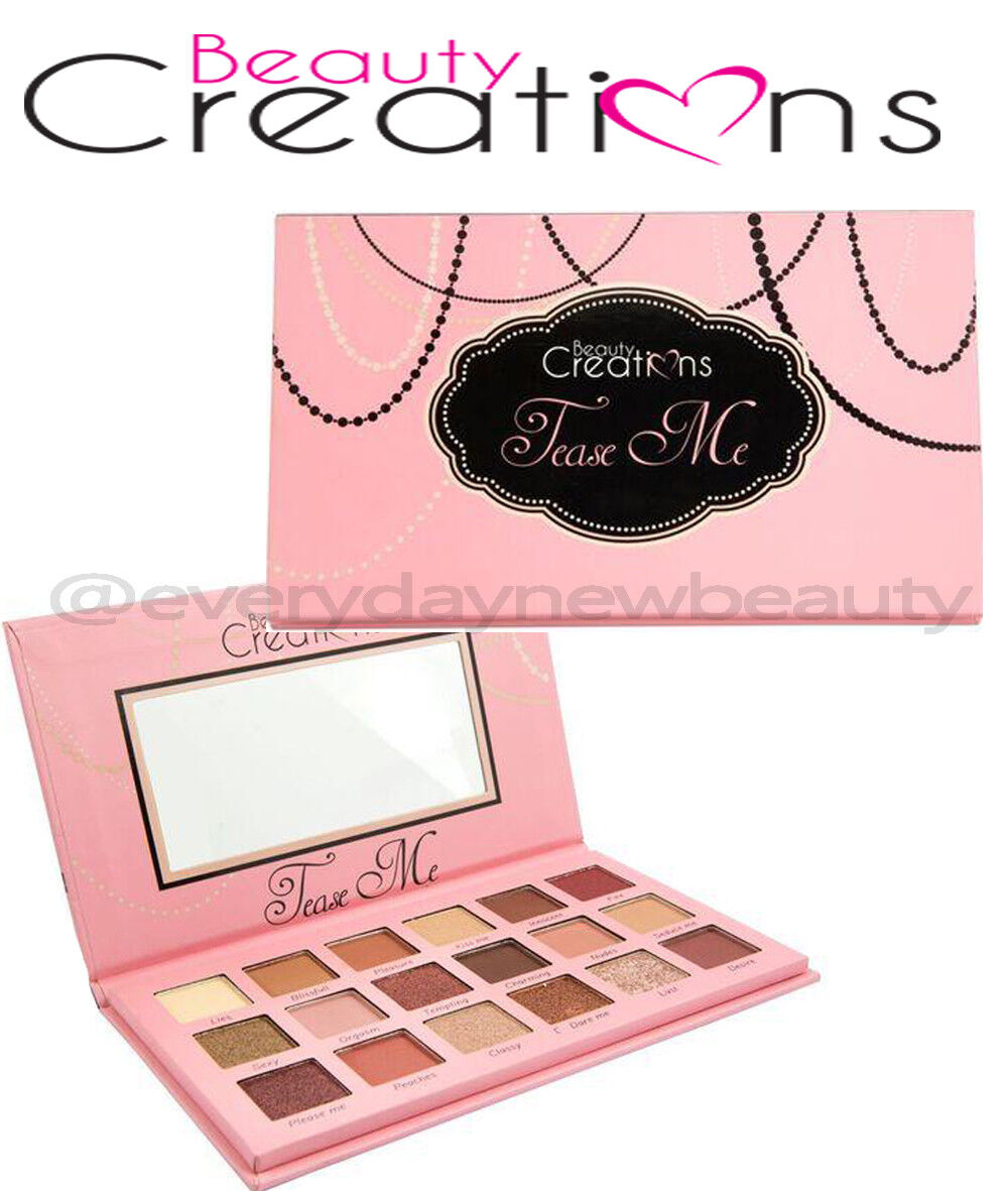 Beauty Creations Tease Me Eyeshadow Palette * Authentic & Brand New * US SELLER