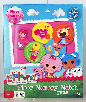 Lalaloopsy - Sew Magical, Sew Cute - Floor Memory Match Spiel ()