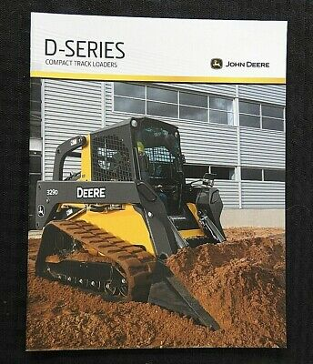 2010 John Deere 319 323 329 333 Skid Steer Loader Tractor Brochure Mint