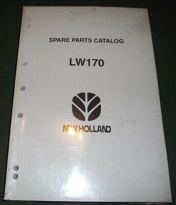 New Holland Lw170 Wheel Loader Parts Manual Book Catalog Oem Original New