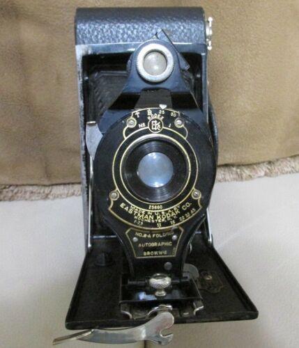 Vintage Eastman Kodak Kodex No 1 Folding Camera