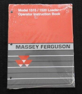 Massey-ferguson 1528 1531 Tractor 1515 1520 Loader Only Operators Manual Mint