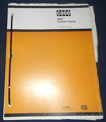 Case 850c Crawler Tractor Dozer Bulldozer Parts Catalog Book Manual