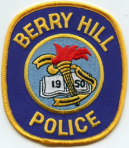 BERRY HILL TENNESSEE TN POLICE PATCH