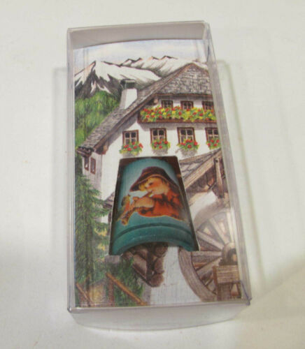 Vintage Collectible Anri Thimble 1981 Italian second limited edition IOB