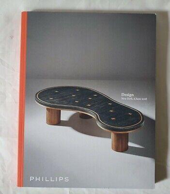 PHILLIPS CATALOGUE MODERN DESIGN JUN 18 NY RIE PROUVE FRANK MODERNIST ++