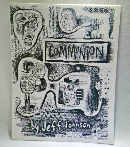 Communion by Jeff aka Jess Johnson Comic Zine Loose Leaf One Staple 1989-1991