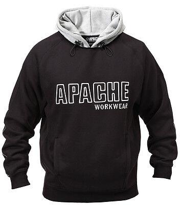 Apache Hoodie Sweatshirt Heavy Duty Hooded Hoody Sweatshirt Jumper Top Mens Sni Heavy Hooded Top