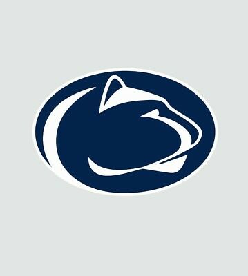 Penn State College Football NCAA Color Sports Decal Sticker-Free Shipping Penn State Colors