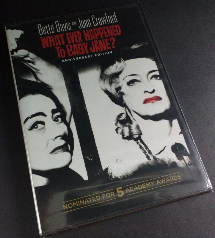 Whatever Happened To Baby Jane? - 2012 - Dvd - Anniversary Ed. - Widescreen -new