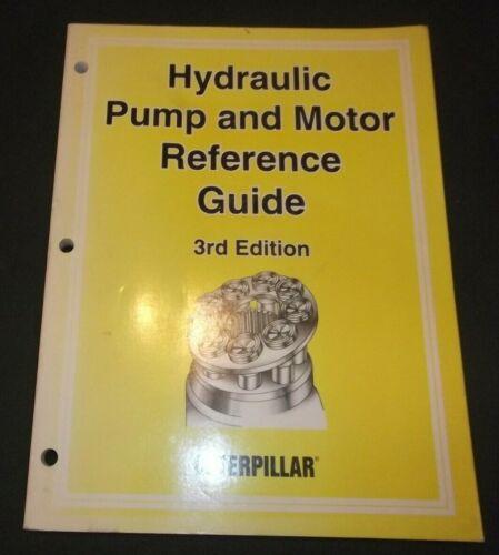 CAT CATERPILLAR HYDRAULIC PUMP & MOTOR REFERENCE GUIDE BOOK MANUAL CATALOG 3RD