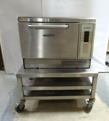 Turbochef Ngc Bakery Counter Top Rapid Cook Microwave Convection Oven With Cart