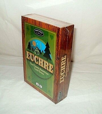 New Sealed Front Porch Classics Euchre The Classic American Card Game Free Shipn