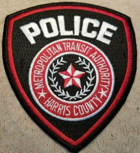 TX Metro Authority Harris County Texas Police Patch