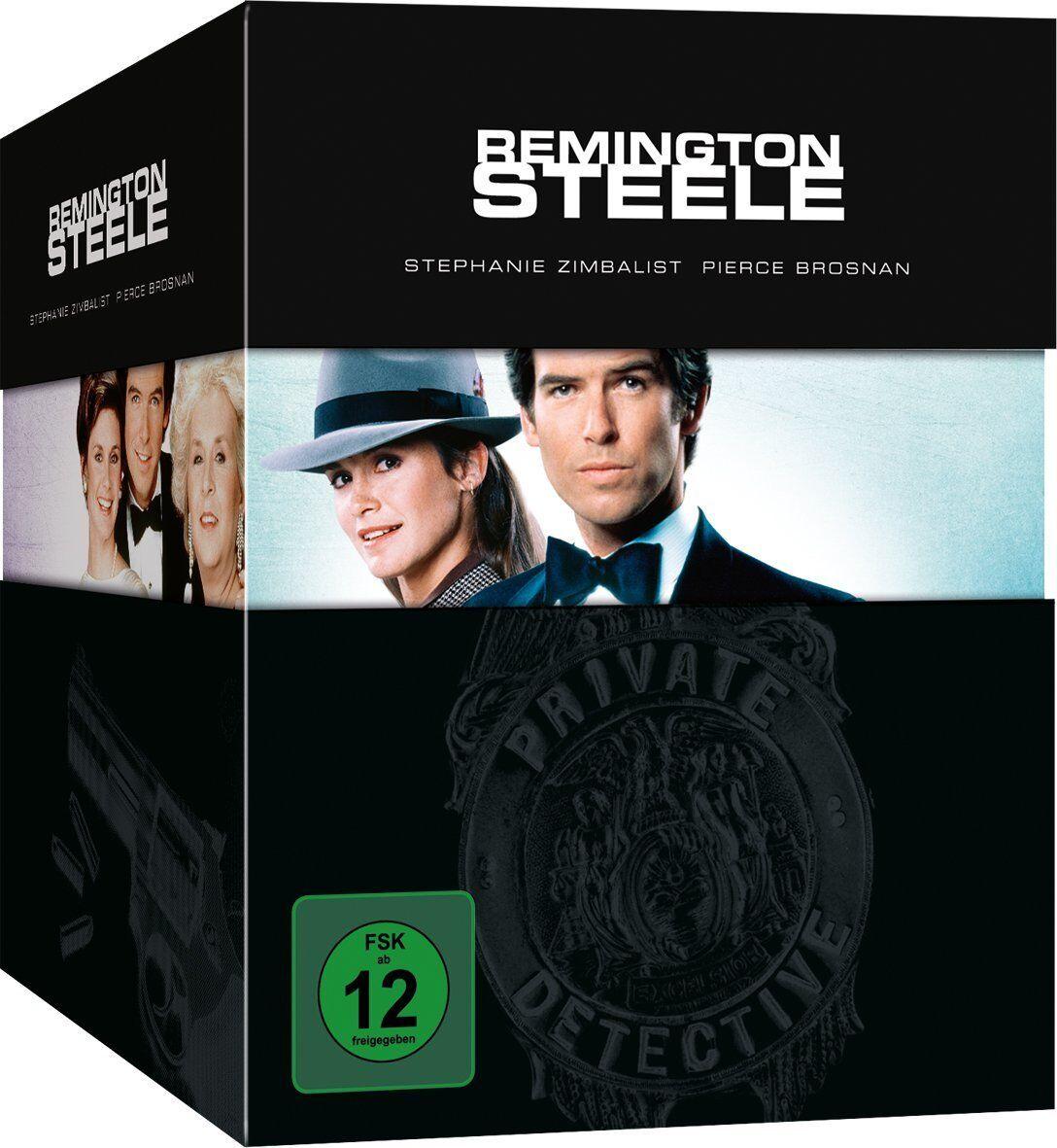 Remington Steele - Die komplette Serie, Collector's Edition, 30 DVD NEU + OVP!
