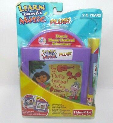 New Fisher Price Learn Through Music Plus Dora Music Festival Adventure](Music Festival Toys)