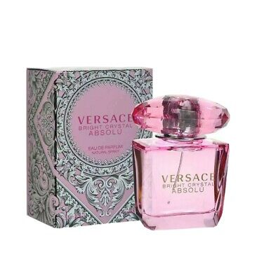 Versace Bright Crystal Absolu Women Eau de Parfum Spray 3.0 Oz New Sealed Box