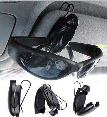 Stabiler ✅ Auto Brillenhalter Clip für Sonnen- oder Zweitbrille Brillenhalterung