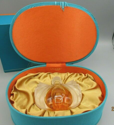 Lalique Catogan Limited Edition Perfume Bottle and Box for Neiman Marcus